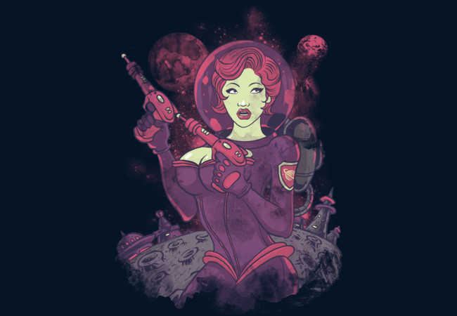 Space Girl  Artwork