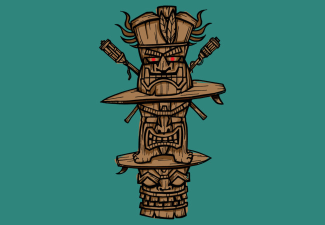 TIKI TIME  Artwork