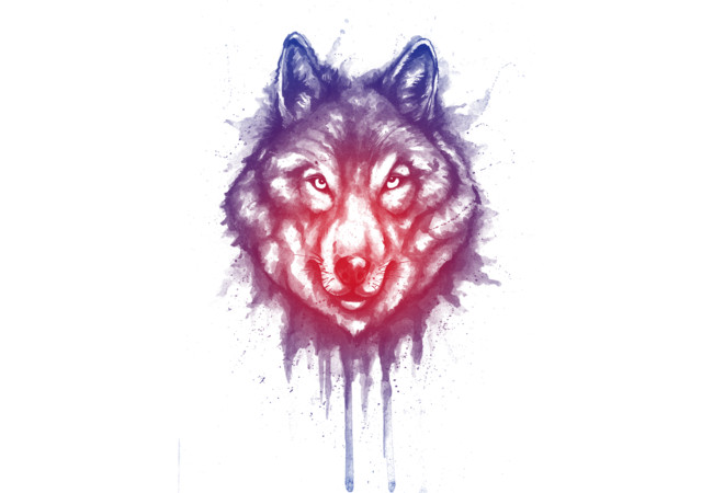 shading of wolf  Artwork