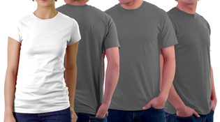 Download T-Shirt Model Template