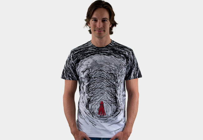 Red Riding Hood T-Shirt - Design By Humans