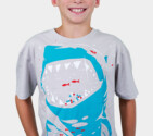 DBH Kids - Shark with pixelated teeth! T-Shirt