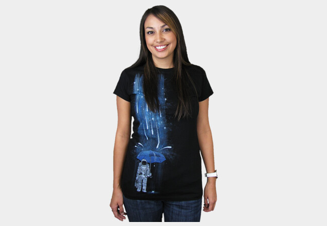 Meteor Shower T-Shirt - Design By Humans