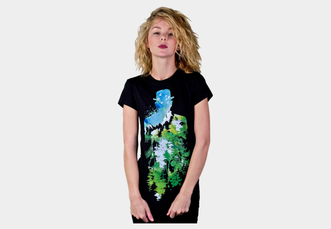Garden of Verses T-Shirt - Design By Humans