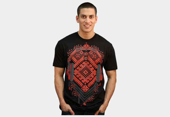 Ethno Headphones T-Shirt - Design By Humans