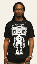Limited Edition - Boombox Boy Bot by marcogervasio