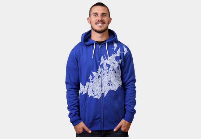 1000 Cranes Hoodie T-Shirt - Design By Humans