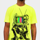Chopper44 wearing Limited Edition - Retro TV Colour Test Man by LukeBatten
