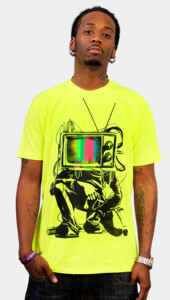 Limited Edition - Retro TV Colour Test Man T-Shirt