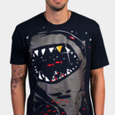 zappy wearing Limited Edition - Shark with Pixelated Teeth by gloopz