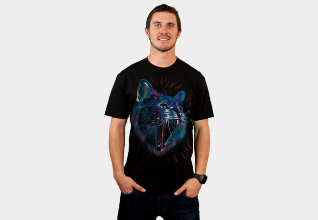 Wild Cat T-Shirt - Design By Humans