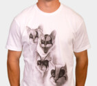 Black Metal Cats T-Shirt