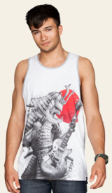 Limited Edition - Rhythm of the Rising Sun Tank Top by rejagalu