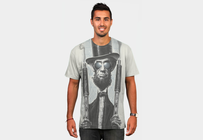 Bad Lincoln T-Shirt - Design By Humans