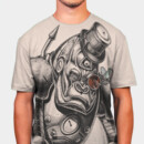 allthingsmotion wearing Mechanical Primate by DrSpazmo