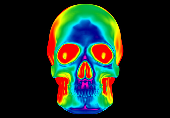 Spectrum Skull  Artwork