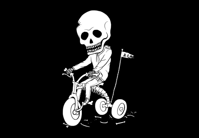 Death Kid Bone Ride  Artwork