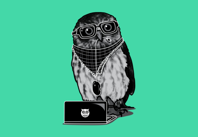 Limited Edition - Smart Owl  Artwork