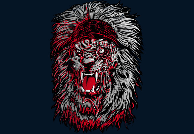 Lion Zombie  Artwork