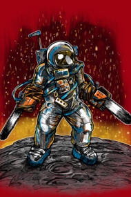 The Texas Chainsaw Astronaut