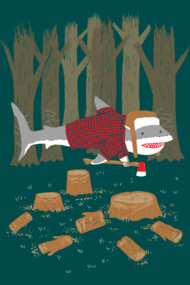 The LumberJack Shark