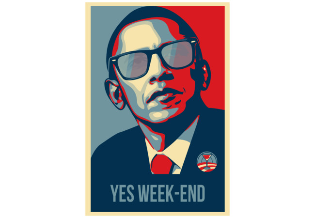YES WEEK END!  Artwork