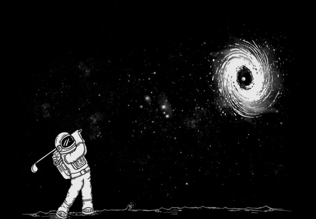 Black Hole In One  Artwork