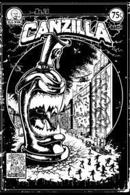 CANZILLA - Graffiti Monster Spraycan
