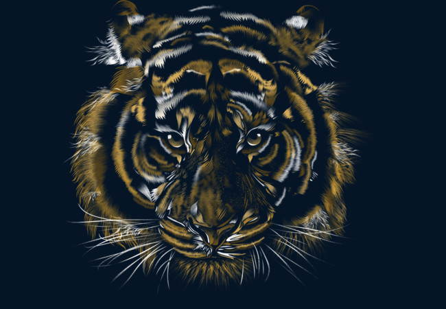 Wild Tiger  Artwork