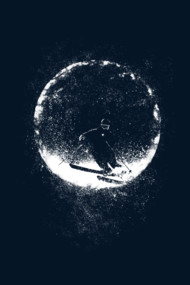 Moonlight Skiing
