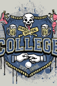 College Frat House Logo