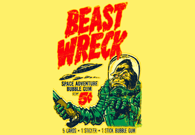 BEAST WRECK ATTACKS!  Artwork