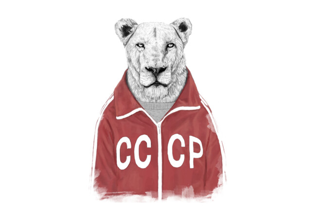 Soviet lion  Artwork