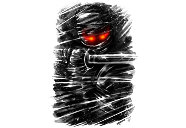 Dark ninja  Artwork