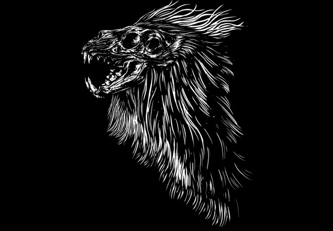 Lion skull  Artwork