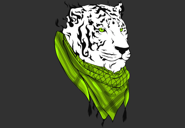 Keffiyeh Tiger  Artwork