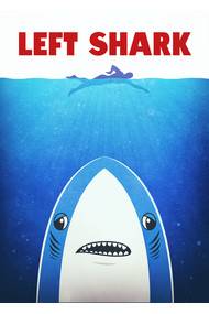 Left Shark Parody - Jaws - Funny Movie / Meme Humor
