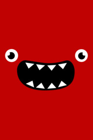 Funny Monster Face