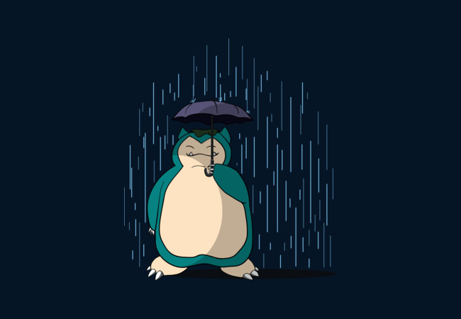 My Neighbor Snorlax  Artwork