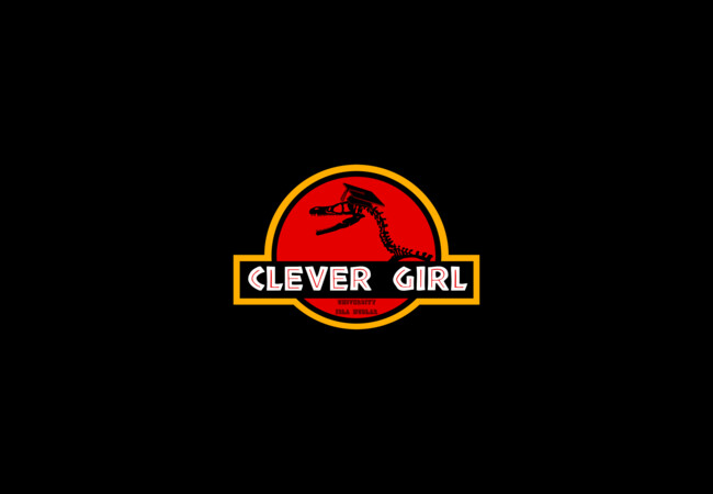 Clever Girl  Artwork