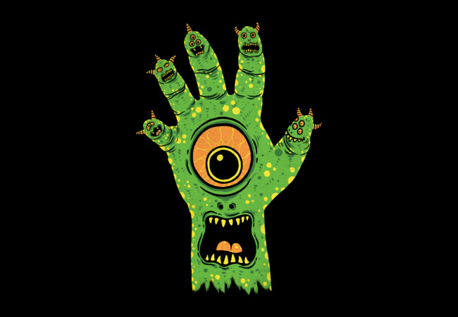 Finger Monster  Artwork