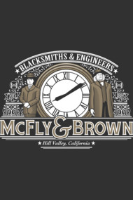 McFly and Brown Blacksmiths