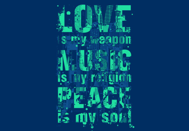 Love - Music - Peace  Artwork