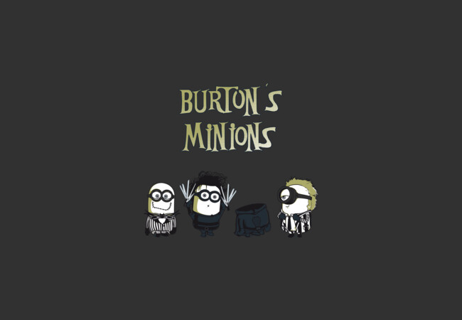 Burton's Minions  Artwork