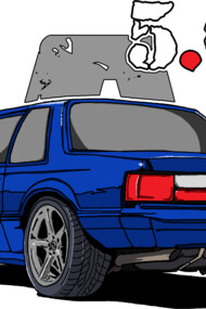 5.0L Fox Body (Notch Back).