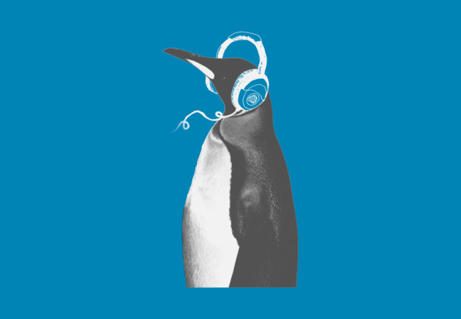PENGUIN HEADPHONES  Artwork