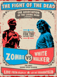 Zombie vs white walker