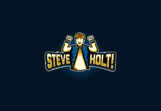 Steve Holt!  Artwork