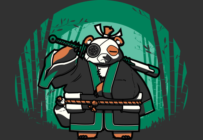 Samurai Panda  Artwork