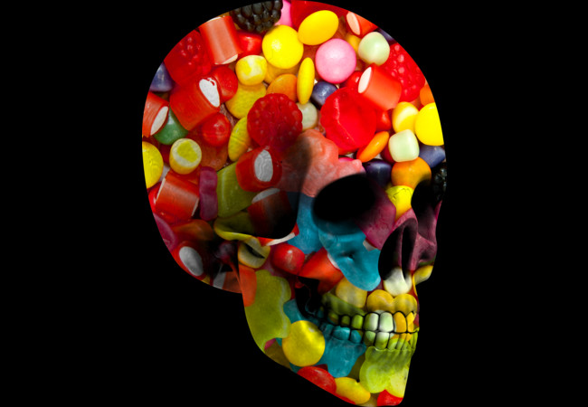 Candy Skull  Artwork